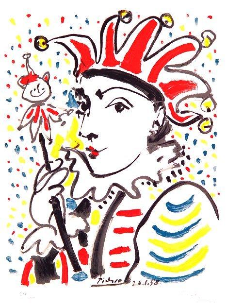 192: (AFTER) PABLO PICASSO (Spanish 1881-1973) Le Clown