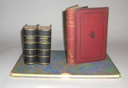 1008: 4 vols. Book Arts - Typography, Papermaking: John
