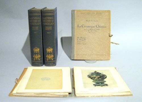 1020: 2 vols. + 2 portfolios. Ceramics: Burton, William