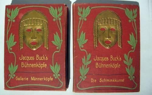 1022: 2 portfolios. Buck, Jacques: Buhenkopfe - cover t