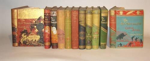 1024: 11 vols. Knox, Thomas W. The Boy Travellers Serie
