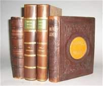 1136 4 vols Illustrated American Description  Travel