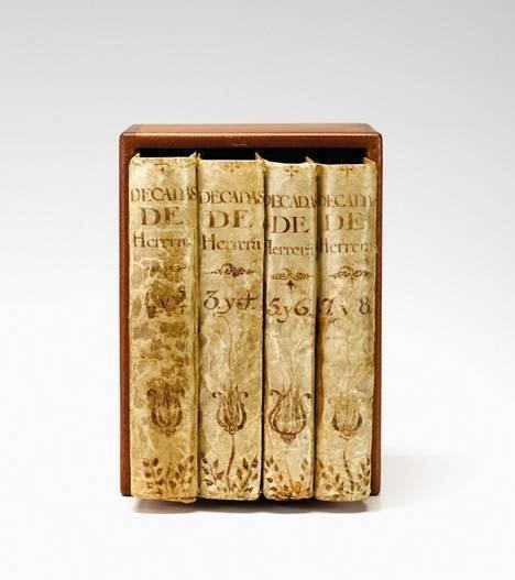 1172: 4 vols. Herrera, Antonio de. Historia general de