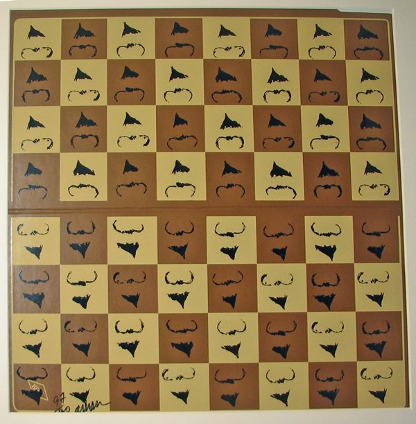2003: ARMAN, (FRENCH 1928-2005), CHESSBOARD IN HOMAGE T