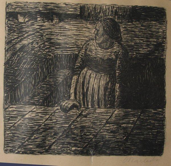 2007: ERNST BARLACH, (GERMAN 1870-1938) THREE PRINTS, S