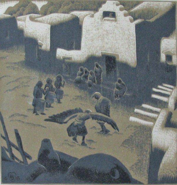 2008: GUSTAVE BAUMANN, (AMERICAN 1881-1971), AN EAGLE C