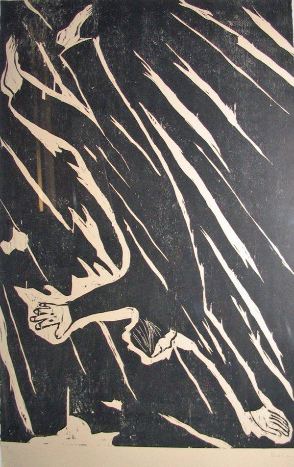 2015: RICHARD BOSMAN, (AMERICAN B. 1944), THE FALL