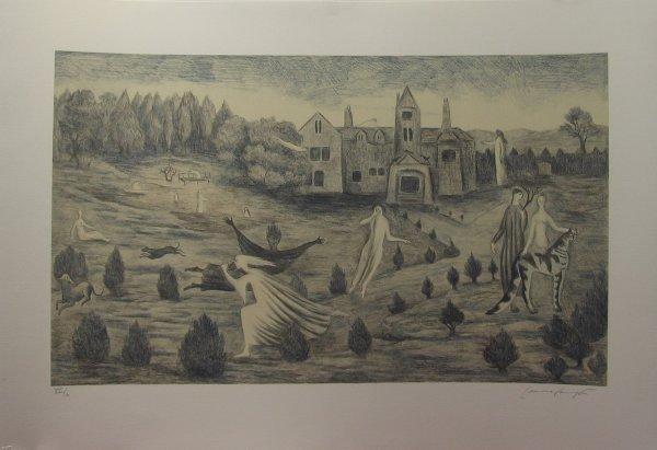 2021: LEONORA CARRINGTON, (BRITISH B. 1917), CROOKHEY H