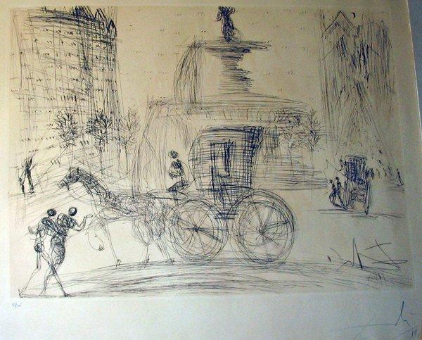 2033: SALVADOR DALI, (SPANISH 1904-1989), NEW YORK CITY