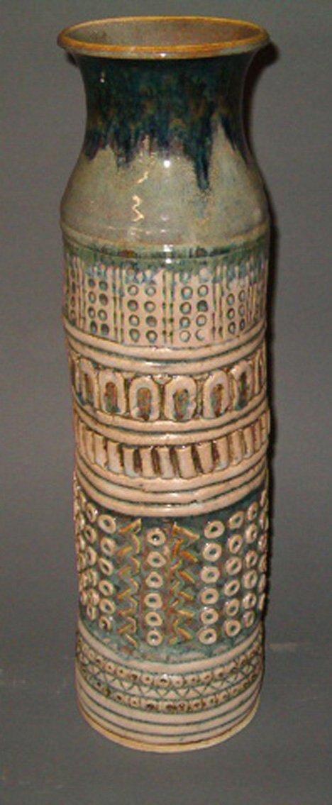 1003: LARGE VASE BY RACHEL KOOPMANS The 1960's vase wit
