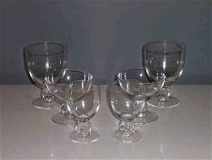 LALIQUE COLORLESS CRYSTAL STEMWARE SERVICE Consi