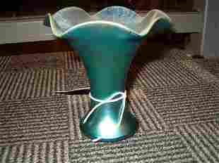 FAVRILE BLUE GLASS CABINET VASE