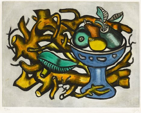 12: (AFTER) FERNAND LEGER, (FRENCH 1881-1955), LE COMPO