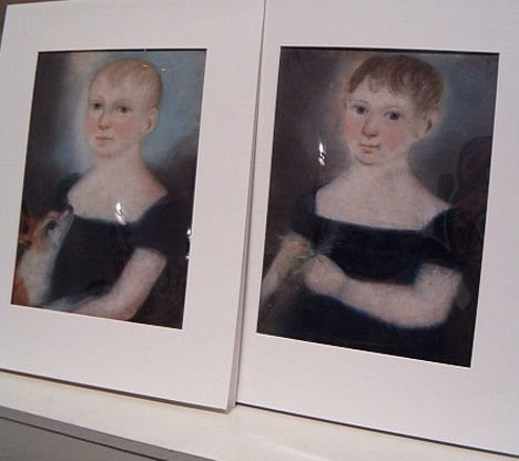 7: AMERICAN SCHOOL, 19TH CENTURY Pair of Portraits of C