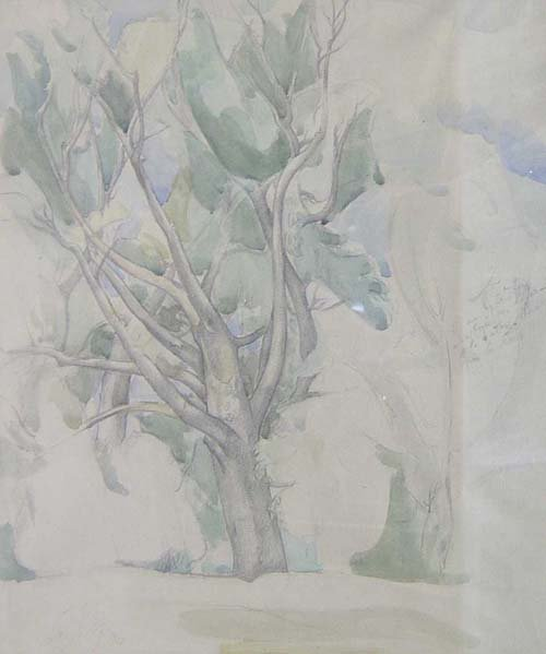 1005: LEON KELLY (American 1901-1982) LANDSCA