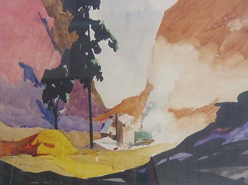 1007: PAUL LUDWIG GILL (American 1894-1938) T
