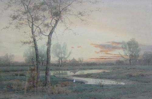 "1010A: HENRY FARRER (American 1844-1903) ""NOV"