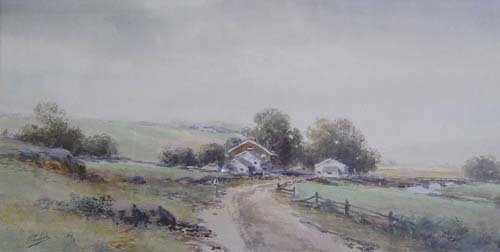 1013: FRANK F. ENGLISH (American 1854-1922) S