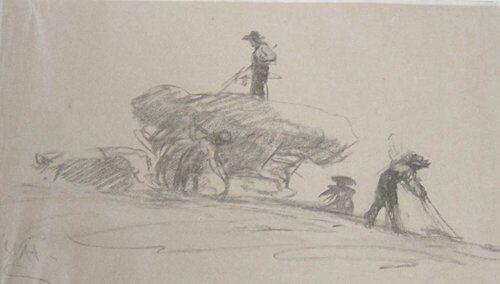 1019: WILLIAM MORRIS HUNT (American 1824-1879