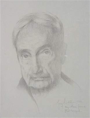 GEORGE BIDDLE (American 1885-1973) SELF