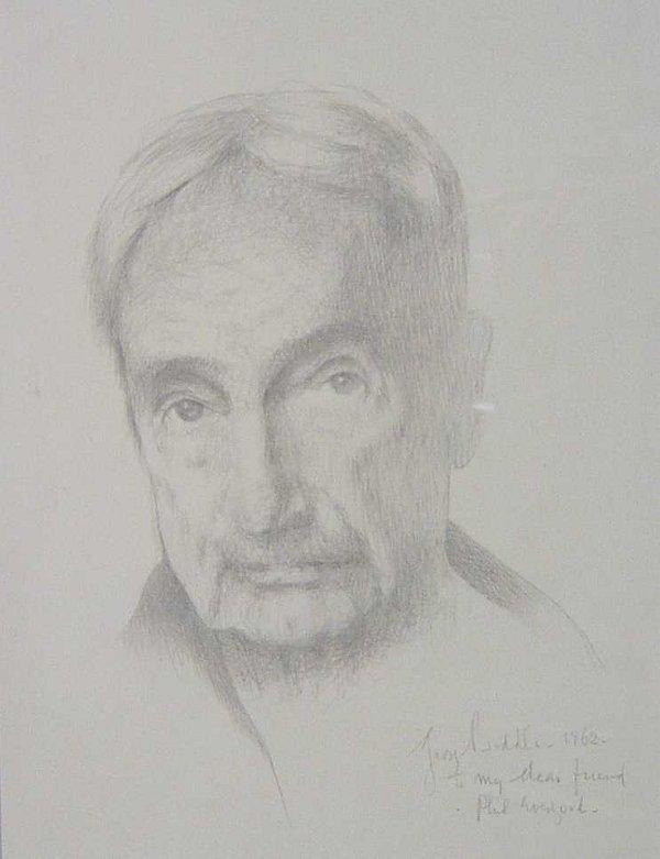 1020: GEORGE BIDDLE (American 1885-1973) SELF