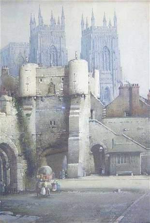 NOEL HARRY LEAVER (British 19th Century