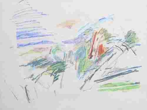 1022: JANE BALTZELL (American Contemporary) A