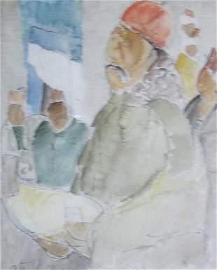 A. GRITCHENKO (American 20th Century) T