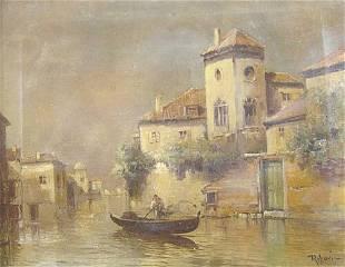 VIRGILIO RIPARI (Italian 1849-1902) VEN