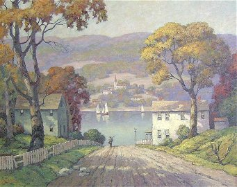 1178: GEORGE JENSEN (American b. 1878) SPRINT
