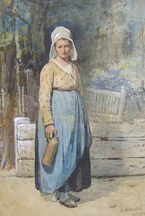 2010: HENDRIK VALKENBURG (Dutch 1826-1896) GA