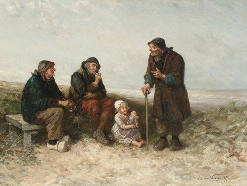 2012: ELCHANON VERVEER (Dutch 1826-1900) A TA