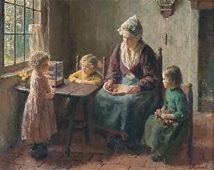 """BERNARD POTHAST (Dutch 1882-1966) """"MOTH"""