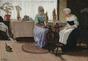 LAURITZ ANDERSEN RING (Danish 1854-1933