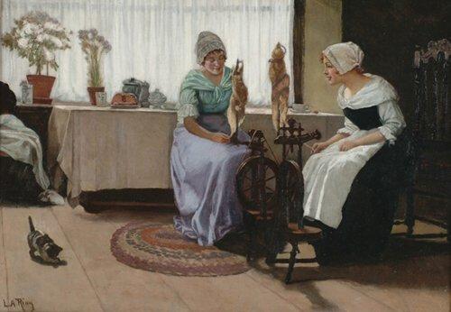 2015: LAURITZ ANDERSEN RING (Danish 1854-1933