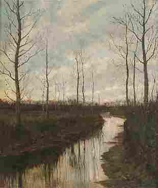 ARNOLD MARC GORTER (Dutch 1866-1933) AU