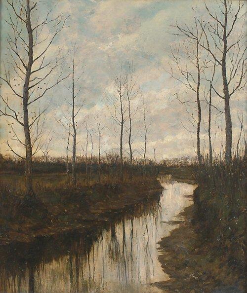 2016: ARNOLD MARC GORTER (Dutch 1866-1933) AU