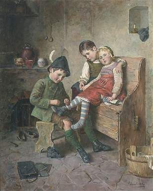 "EDMUND ADLER (German 1871-1957) ""THE BI"