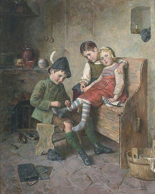 "2019: EDMUND ADLER (German 1871-1957) ""THE BI"