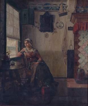 CARL MUCKE (German 1847-1923) REVERIE
