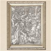 """ALBRECHT DÜRER, (GERMAN 1471-1528), """"THE BETRAYAL OF"""