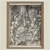 """ALBRECHT DÜRER, (GERMAN 1471–1528), """"CHRIST BEFORE"""