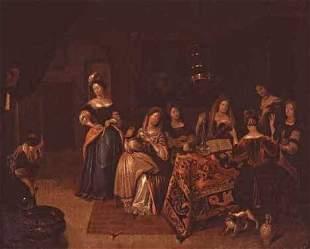 ATTRIBUTED TO RICHARD BRAKENBURGH (dutch 1650-1702)