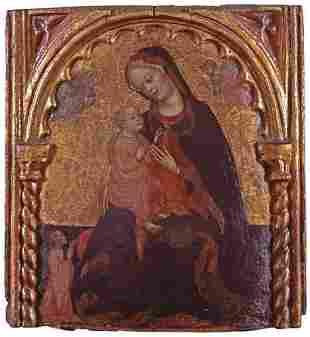 ATTRIBUTED TO ZANINO DI PIETRO (italian d. 1448) MAD