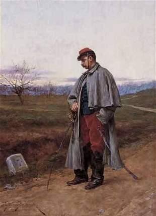 ETIENNE PROSPER BERNE-BELLECOUR (french 1838-1910)