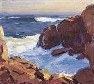 "91: EMILE A. GRUPPE (american 1896-1978) BASS ROCKS"" Si"