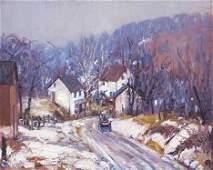 172: ALFRED RICHARD MITCHELL (american 1888-1972) ROAD