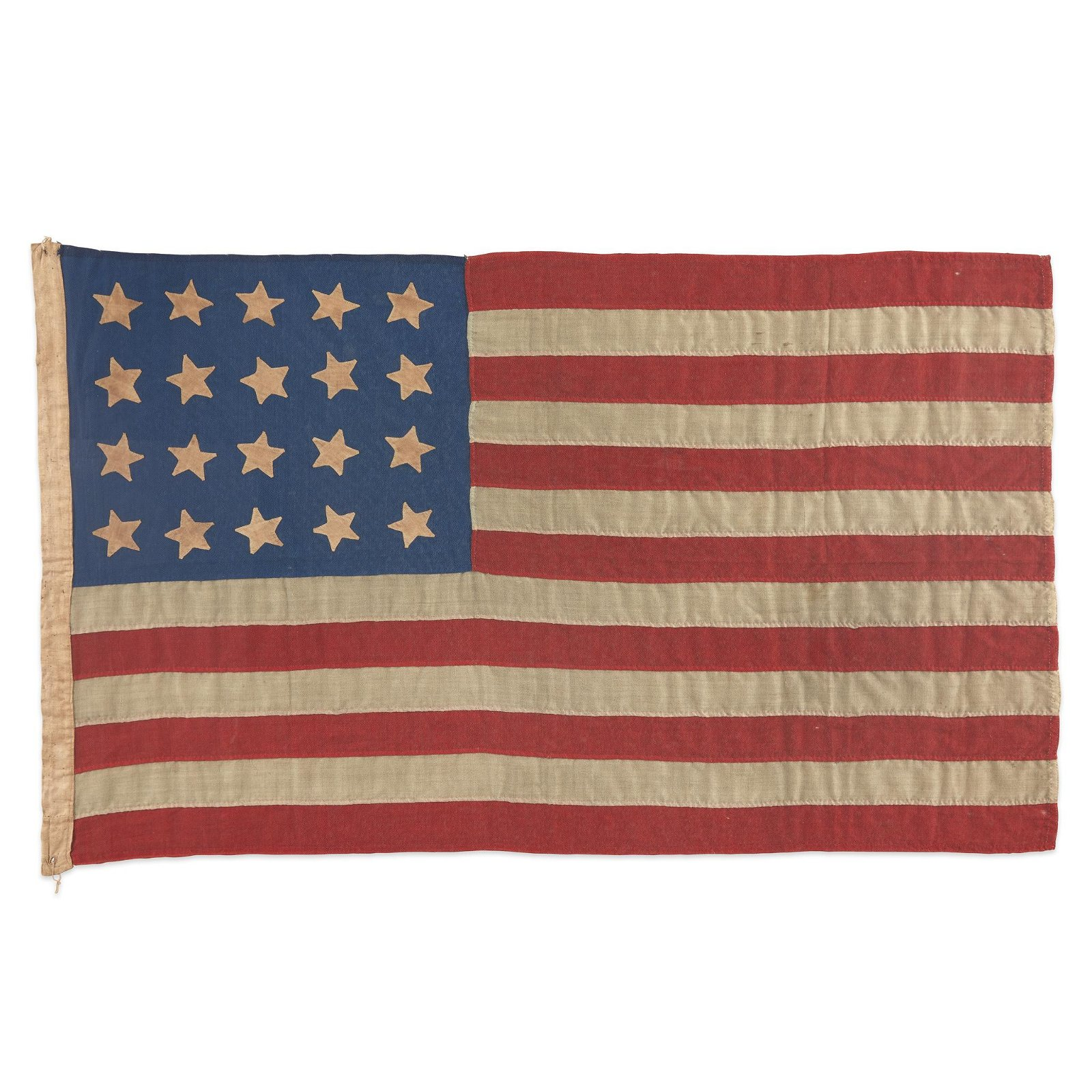 A 20-Star American Flag commemorating Mississippi