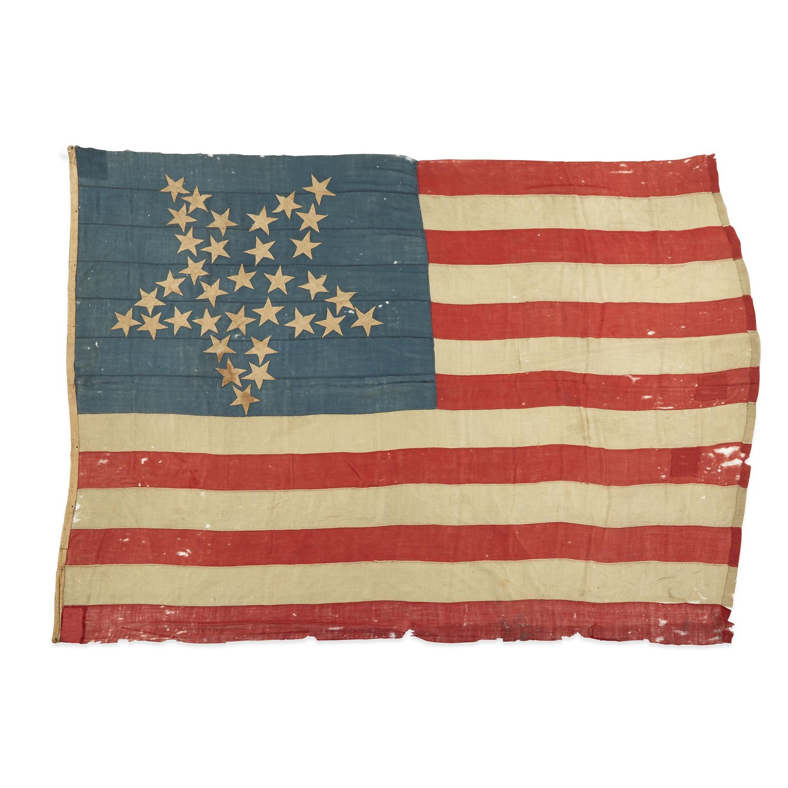 A 34-Star Great Luminary American Flag