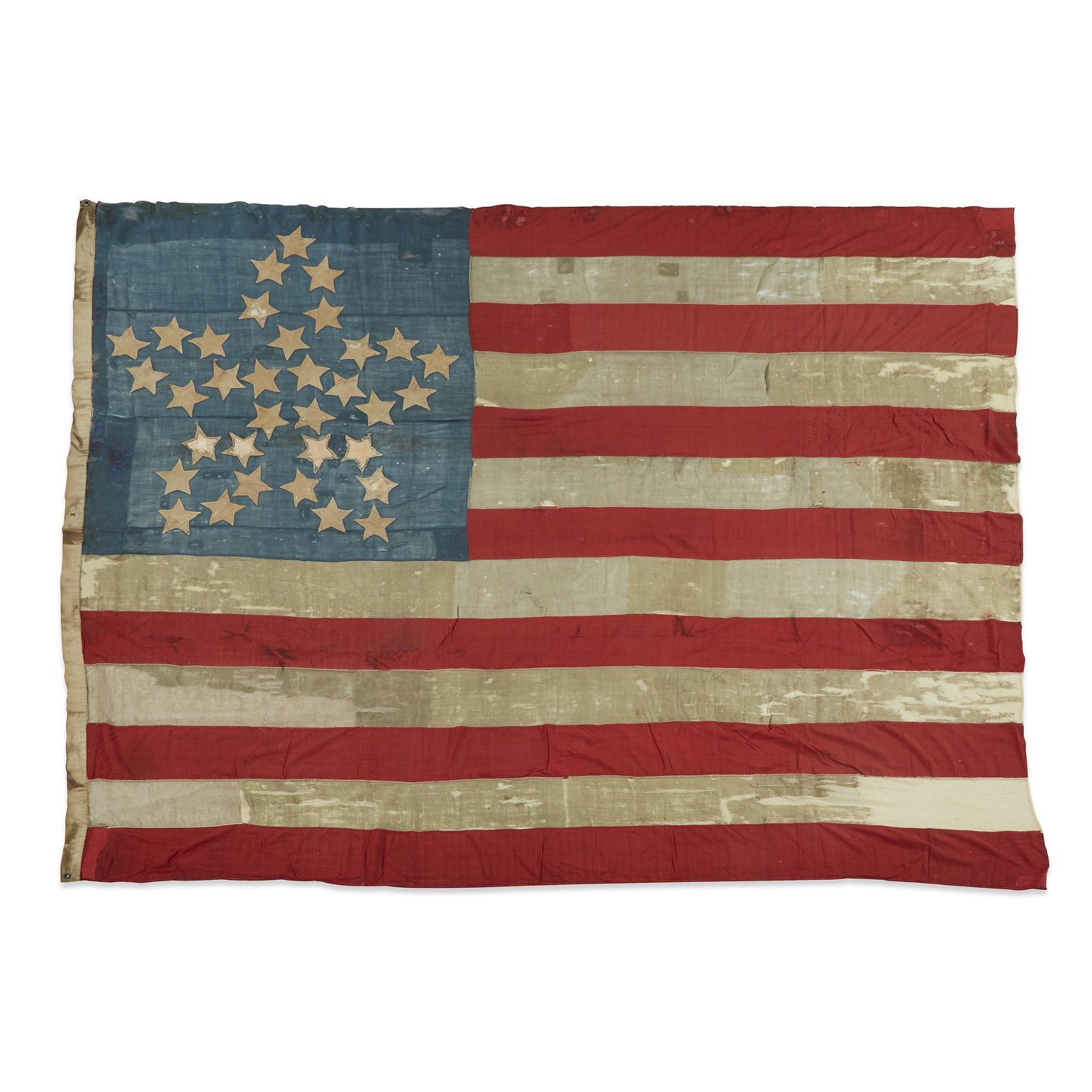 A 34-Star Great Flower American Flag